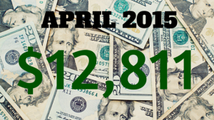 April 2015 Income Report