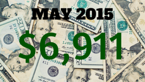 May 2015 Income Report