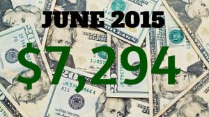 June 2015 Income Report